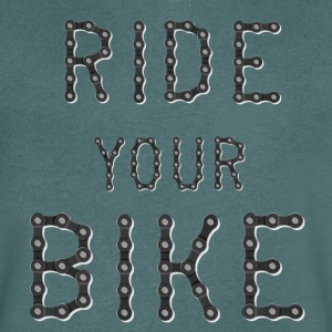 Ride your bike - Men's V-Neck T-Shirt