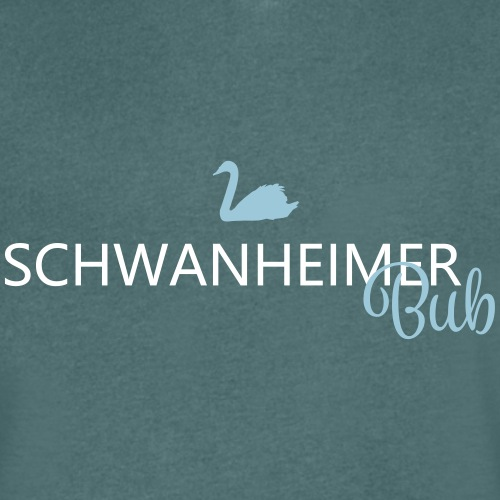 Schwanheimer Bub - Männer Bio-T-Shirt mit V-Ausschnitt von Stanley & Stella