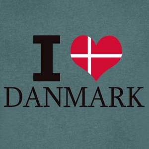 I LOVE DENMARK - Men's V-Neck T-Shirt