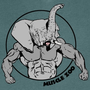 Muscle Phant - Men's V-Neck T-Shirt