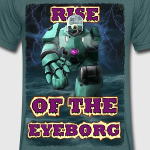 Rise of the Eyeborg - T-skjorte med V-utsnitt for menn