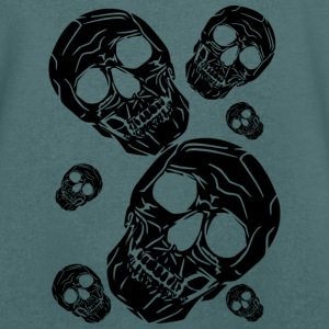 multiple skulls - Men's V-Neck T-Shirt