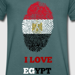 I LOVE EGYPT - Men's V-Neck T-Shirt