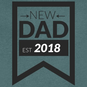 NEW DAD 2018 - T-shirt med v-ringning herr