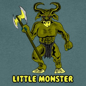 monster42 - T-shirt med v-ringning herr