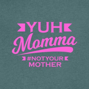 YUH MOMMA TEE - T-shirt Homme col V