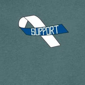 Show Support For ALS - Men's V-Neck T-Shirt