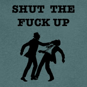 shut up - Men's V-Neck T-Shirt