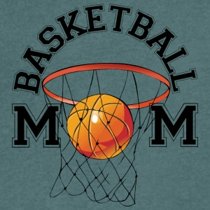 Basketball Mom - Men's V-Neck T-Shirt