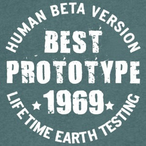 1969 - The birth year of legendary prototypes - Men's V-Neck T-Shirt