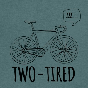 Cycling: Two-Tired - Men's V-Neck T-Shirt