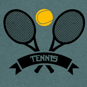 Tennis! - Men's V-Neck T-Shirt