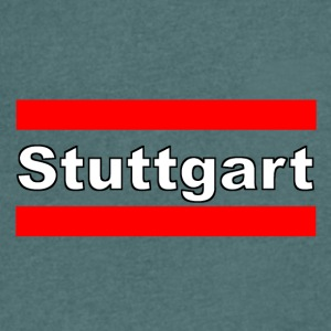 Stuttgart Premium - Men's V-Neck T-Shirt