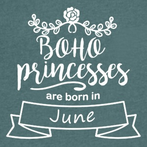 Boho Princesses are born in June - Men's V-Neck T-Shirt