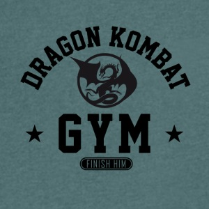 Dragon Kombat - Men's V-Neck T-Shirt