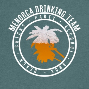 Shirt party holiday - Menorca - Men's V-Neck T-Shirt