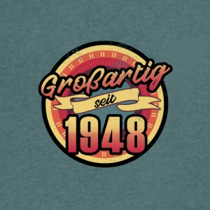 Gift for the 69th birthday - vintage 1948 - Men's V-Neck T-Shirt