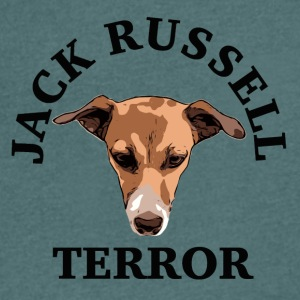 Jack Russell terror - Men's V-Neck T-Shirt