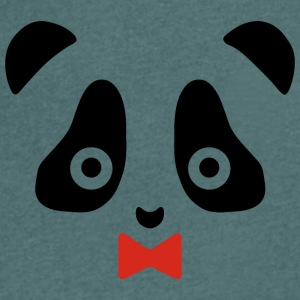 panda - Men's V-Neck T-Shirt