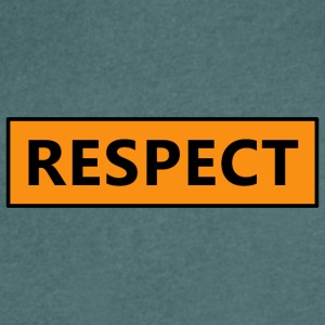 Respect (Respect) - Men's V-Neck T-Shirt
