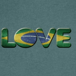 I LOVE BRAZIL brazil - Men's V-Neck T-Shirt