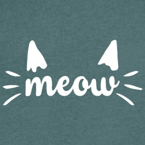 meow - Men's V-Neck T-Shirt