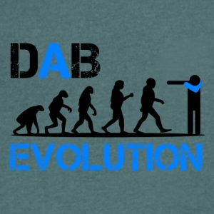 DAB EVOLUTION / Homo Dabens - Men's V-Neck T-Shirt