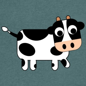 cow - Men's V-Neck T-Shirt