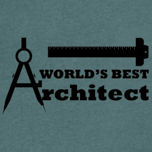 Architekt / Architektur: World´s Best Architect - Männer T-Shirt mit V-Ausschnitt