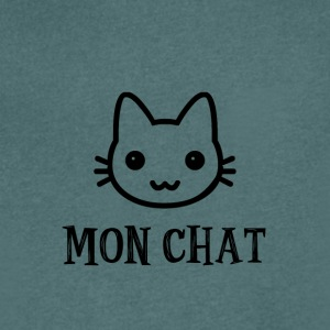 Mon_chat - T-shirt Homme col V