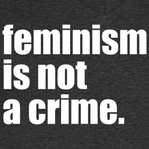 Feminism is not a crime - Men's V-Neck T-Shirt
