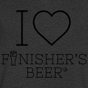 I love Finisher's Beer - Men's V-Neck T-Shirt