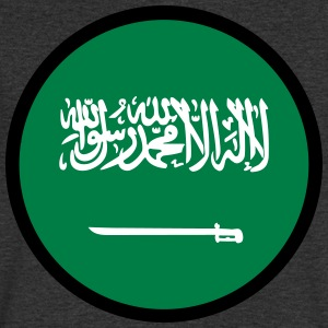 Under The Sign Of Saudi Arabia - Men's V-Neck T-Shirt