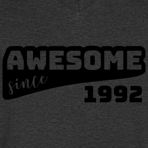 Awesome since 1992 / Birthday-Shirt - Men's V-Neck T-Shirt
