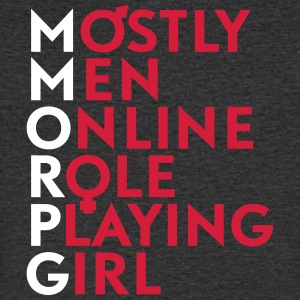 Accronym MMORPG - Men's V-Neck T-Shirt