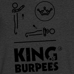King of Burpees - T-shirt Homme col V