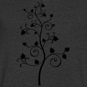 spiral tree - Men's V-Neck T-Shirt