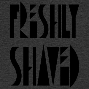 freshly shaved - Men's V-Neck T-Shirt