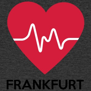 heart Frankfurt - Men's V-Neck T-Shirt
