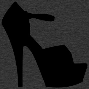 Vector highheels Silhouette - Men's V-Neck T-Shirt
