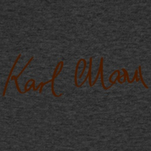 Signature of Karl Marx - Men's V-Neck T-Shirt