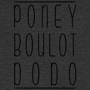 Pony Boy Dodo - Men's V-Neck T-Shirt