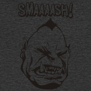 Smaaaash - T-shirt Homme col V