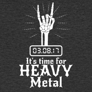 It's Time for Heavy Metal - Männer T-Shirt mit V-Ausschnitt