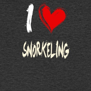 I love snorkeling - Men's V-Neck T-Shirt