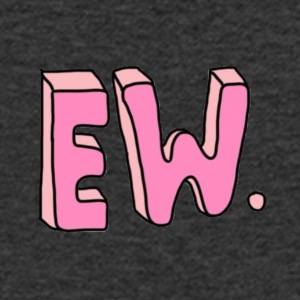 eww - Men's V-Neck T-Shirt
