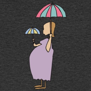 Pregnant Cute - Men's V-Neck T-Shirt