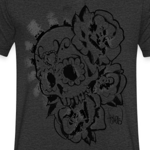 skull candy - Men's V-Neck T-Shirt
