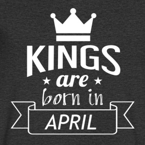 Kings are born in APRIL - Men's V-Neck T-Shirt