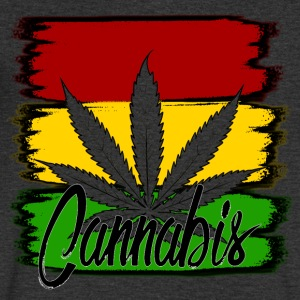 cannabis - Men's V-Neck T-Shirt